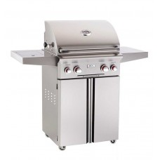 "AOG 24"" T Series Portable Grill With Rotisserie and Single Side Burner"