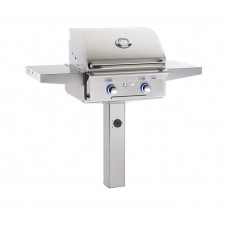 "AOG 24"" L Series In-Ground Post Grill"
