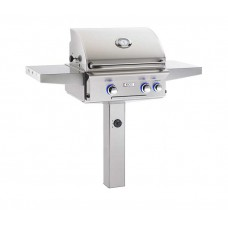 "AOG 24"" L Series In-Ground Post Grill With Rotisserie Backburner"