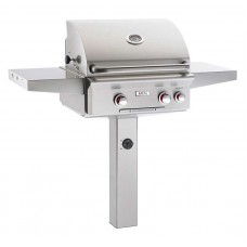 AOG 24 T Series In-Ground Post Grill With Rotisserie Backburner