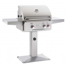 "AOG 24"" T Series Patio Post Grill With Rotisserie Backburner"