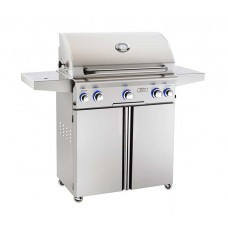 "AOG 30"" L Series Portable Grill With Rotisserie and Single Side Burner"