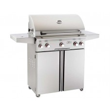 "AOG 30"" T Series Portable Grill With Rotisserie and Single Side Burner"