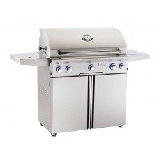 "AOG 36"" L Series Portable Grill With Rotisserie and Single Side Burner"