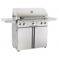 "AOG 36"" T Series Portable Grill With Rotisserie and Single Side Burner"