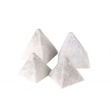 Real Fyre Geo Pyramids - Ivory